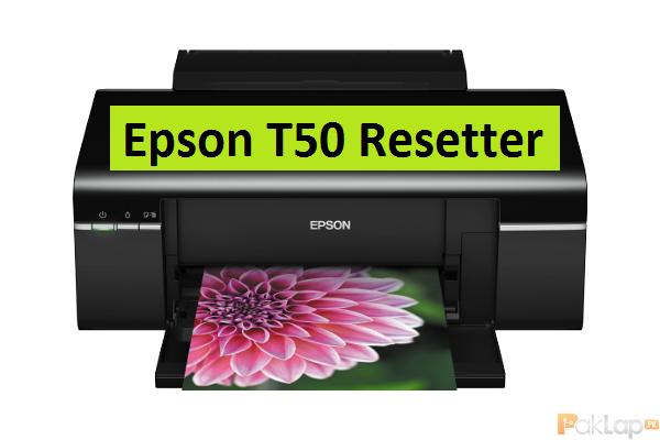 Reset Epson T50
