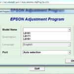 Epson L6161-L6171-L6191 Resetter