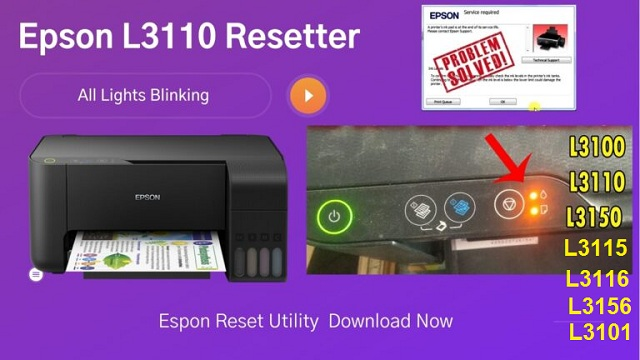 Epson l3110 Service Required