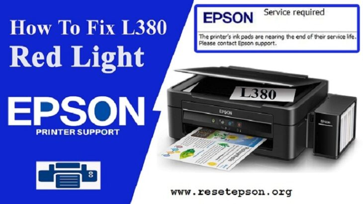Reset Epson l380 free download