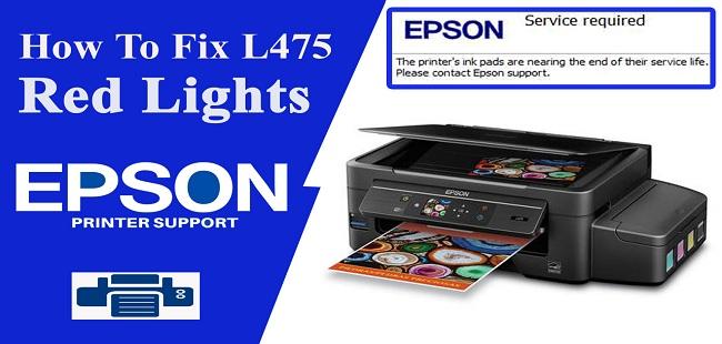 Epson L475 Resetter