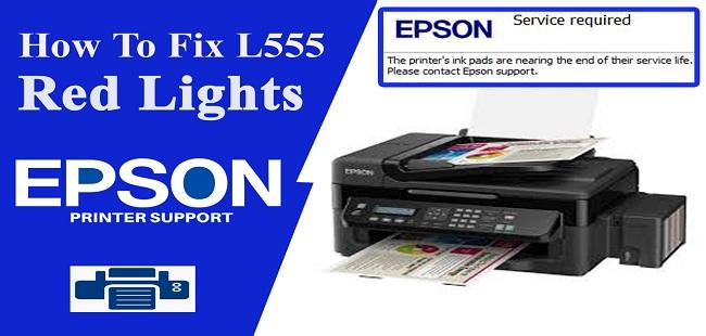 Reset epson L550