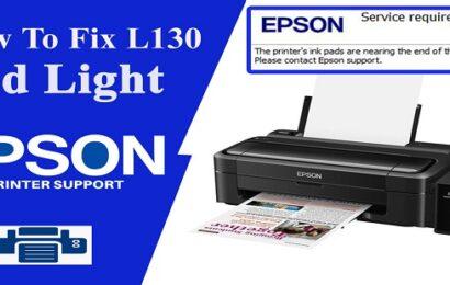 Epson L130 Resetter