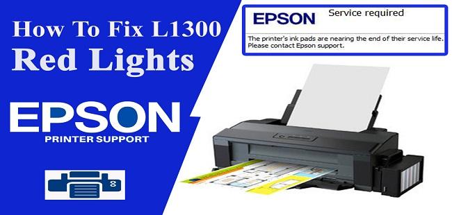 Epson L1300 Resetter